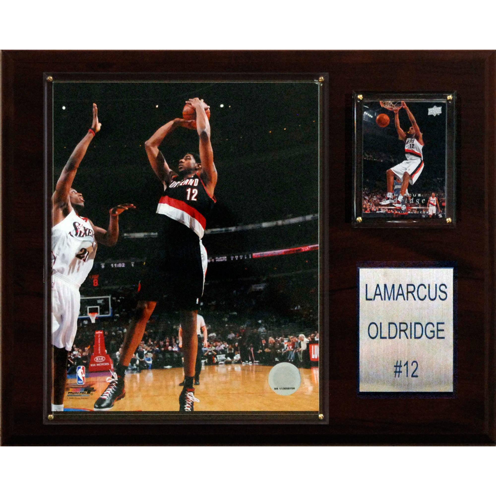 C&I Collectables NBA 12x15 LaMarcus Aldridge Portland Trail Blazers Player Plaque