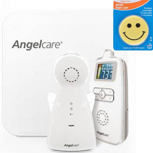 Angelcare AC403 Movement and Sound Monitor With Night Light by Angelcare