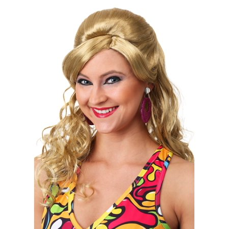 60s Gogo Mod Wig-Blonde - 60s Mod Outfits