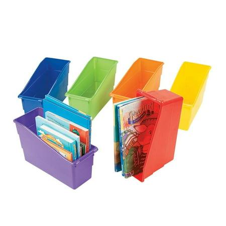 Classroom Organizer Book Storage Bins](Classroom Book Bins)