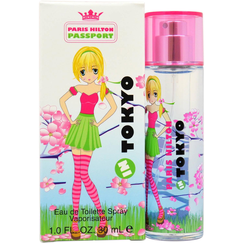 Paris Hilton Passport Tokyo Women's EDT Spray, 1 fl oz