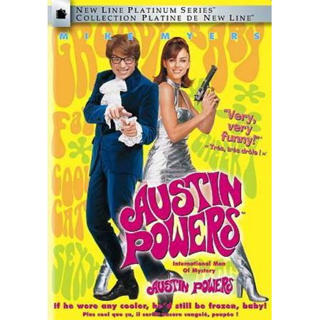 AUSTIN POWERS: INTERNATIONAL MAN OF MYSTERY [DVD] [CANADIAN]