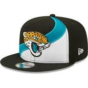 Jacksonville Jaguars New Era Wave 9FIFTY Snapback Hat - White - OSFA