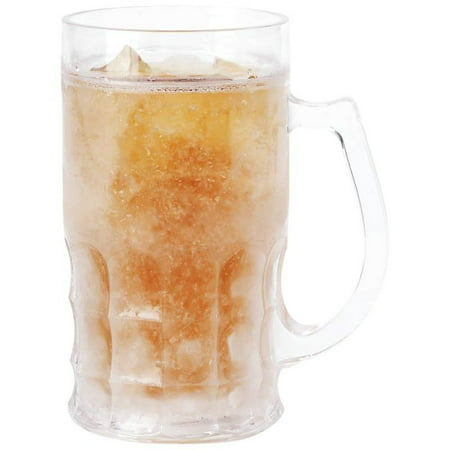 Wyndham HouseTM 16.9oz Beer Mug with Freezing Gel - Disposable Beer Mugs