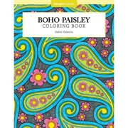 Design Originals Boho Paisley Adult Coloring Book