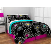 Latitude Pop Bloom Bed in a Bag Bedding Set