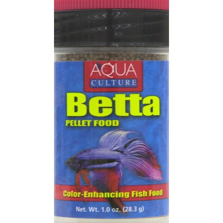 Aquaculture 1 1 oz bettas food for Betta fish food walmart