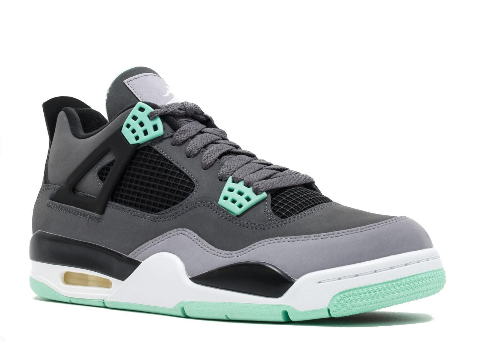 huge discount a0c7b 2dcd7 Air Jordan - Men - Air Jordan 4 Retro  Green Glow  - 308497-033 - Size 10.5