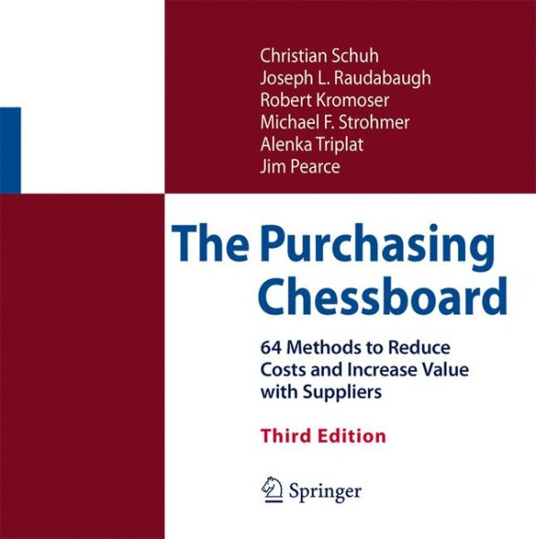 The Purchasing Chessboard (Hardcover)
