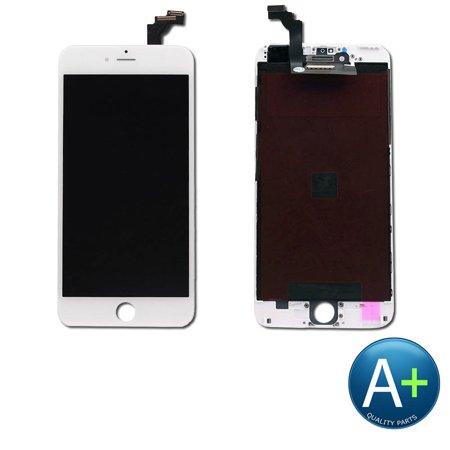 Touch Screen Digitizer and LCD for Apple iPhone 6 Plus White (A1522, A1524, -