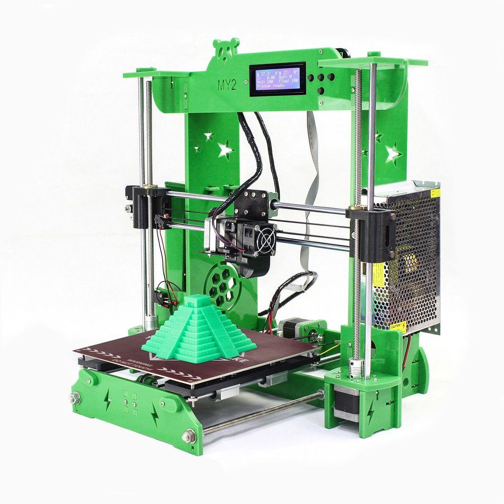 3D printer High Precision LCD Display DIY Home Level 3D Printer Strong Structural Large Printing Size 210*210*210mm