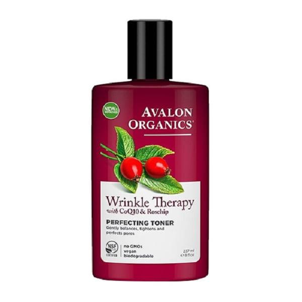 Avalon Organics CoQ10 Repair Perfecting Facial Toner, 8 Fl Oz