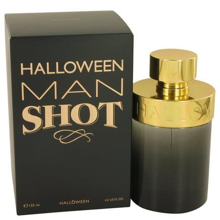 Halloween Cologne (Halloween Man Shot Cologne By Jesus Del Pozo Eau De Toilette Spray 4.2 oz(Pack of)