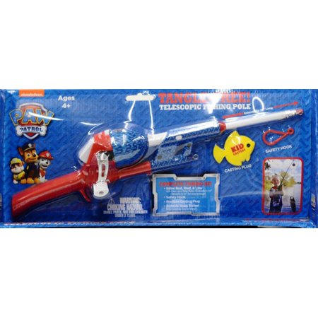 Kid Casters Paw Patrol Telescopic Nt Rod