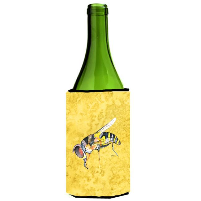 Bee On Yellow Wine bottle sleeve Hugger - 24 oz. - image 1 de 1