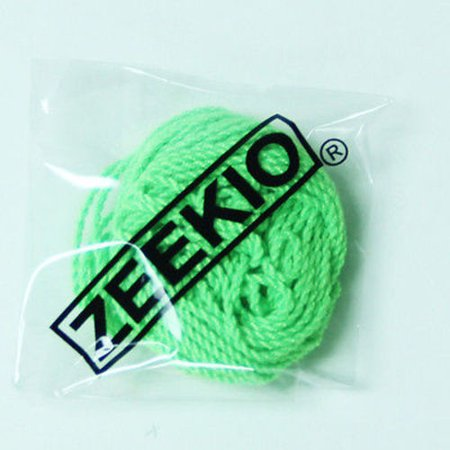 Zeekio Yo-yo Strings -(1) Ten Pack of 100% Polyester Yoyo String- Neon Green (Yoyo String One)