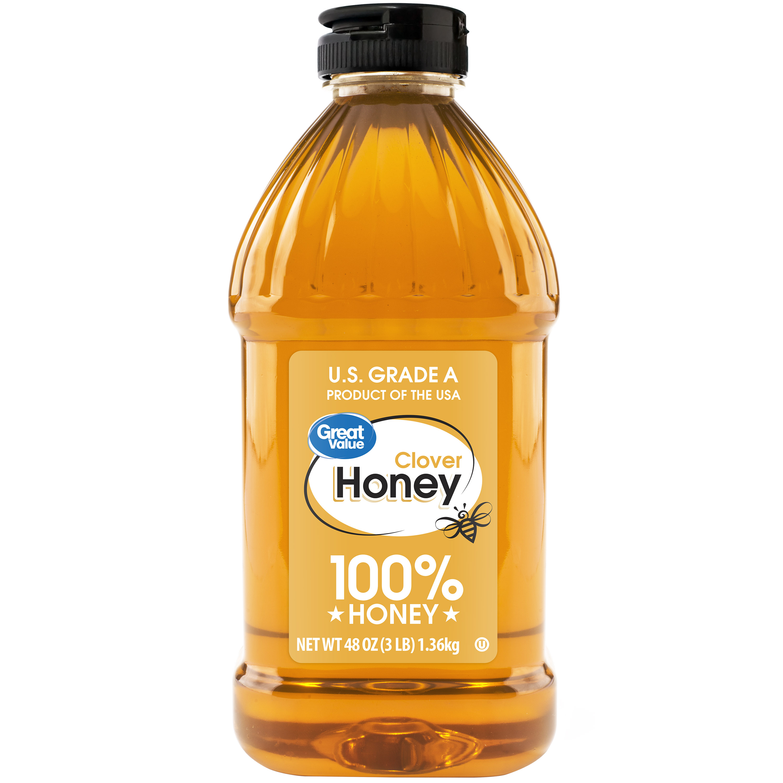 Great Value Clover Honey, 48 oz