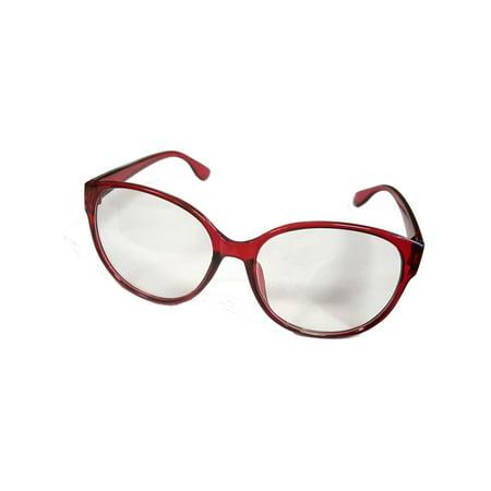 Sally Jessy Raphael Red Costume Glasses