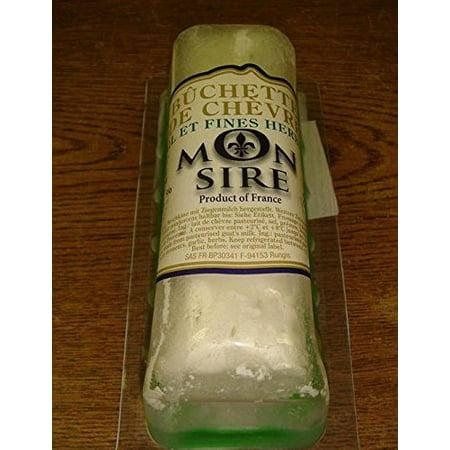 French Goat Cheese Buchette Nostalgie W/herbs and Garlic - 5.4