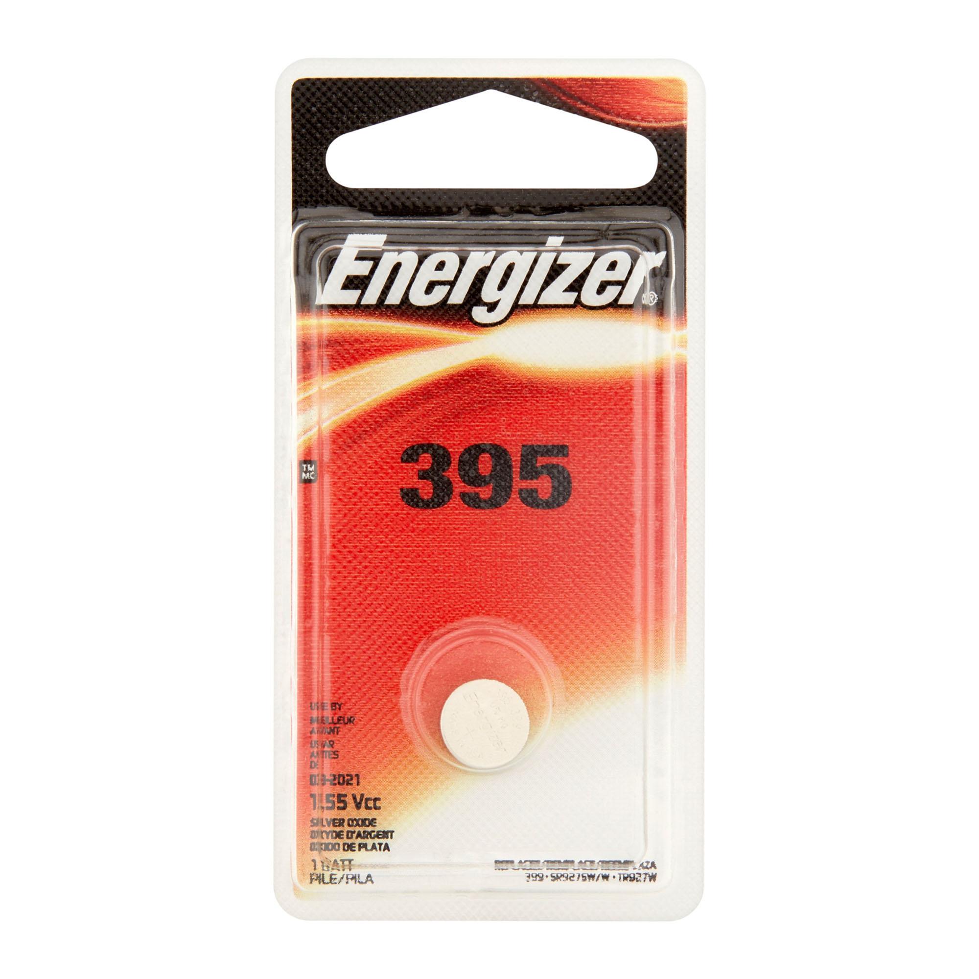 1-Card 395 / SR927SW Energizer Silver Oxide Button Battery - image 1 de 1