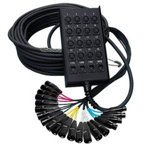 RapcoHorizon Horizon Multi-Channel Stage Snake (16 x 4, 100 ft) by