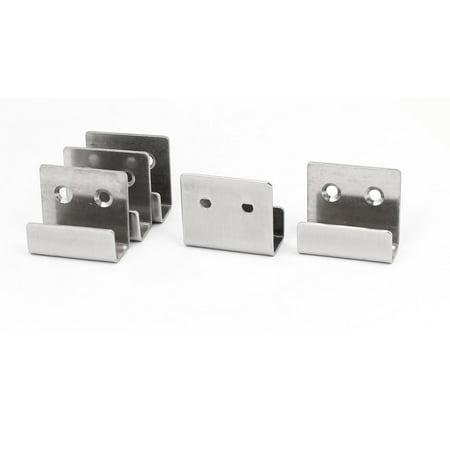 Stainless Steel Wall Hanger Bracket Rack Holder 5pcs for Ceramic Tile Display