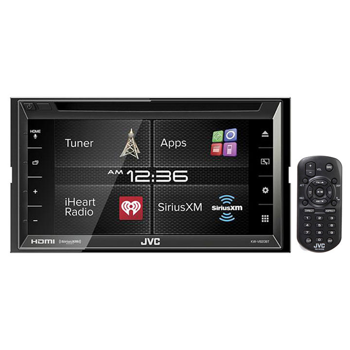 "JVC KW-V620BT 6.8"" Double Din DVD Bluetooth In Dash Car Stereo w  HDMI by JVC"