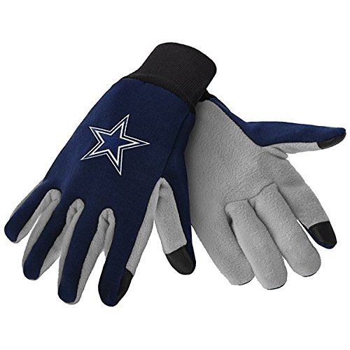 Dallas Cowboys Color Texting Gloves