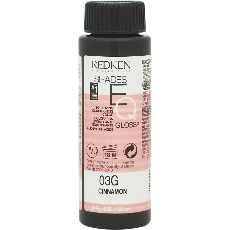 Redken Redken Shades Eq Color Gloss 03g Cinnamon For Women 2 Oz
