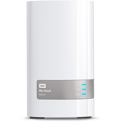 WD My Cloud Mirror Personal Cloud Storage, 4TB
