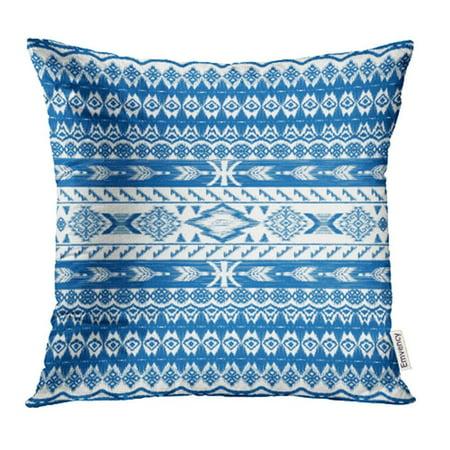 CMFUN Tribal Gypsy Style Ethnic Original Native Border Boho Shic Pattern Design Pillowcase Cushion Cases 18x18 inch