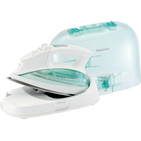 Panasonic Cordless Steam Iron with Carrying Case, White