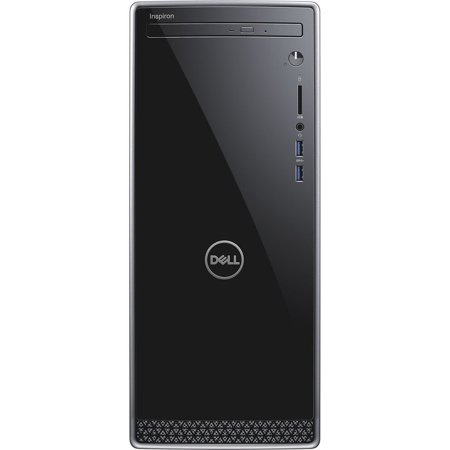 Dell - Inspiron 3670, i3670-3828BLK, Intel Core i3-8100, 8GB 2400MHz DDR4, 1 TB 7200 RPM HDD, Intel UHD Graphics -