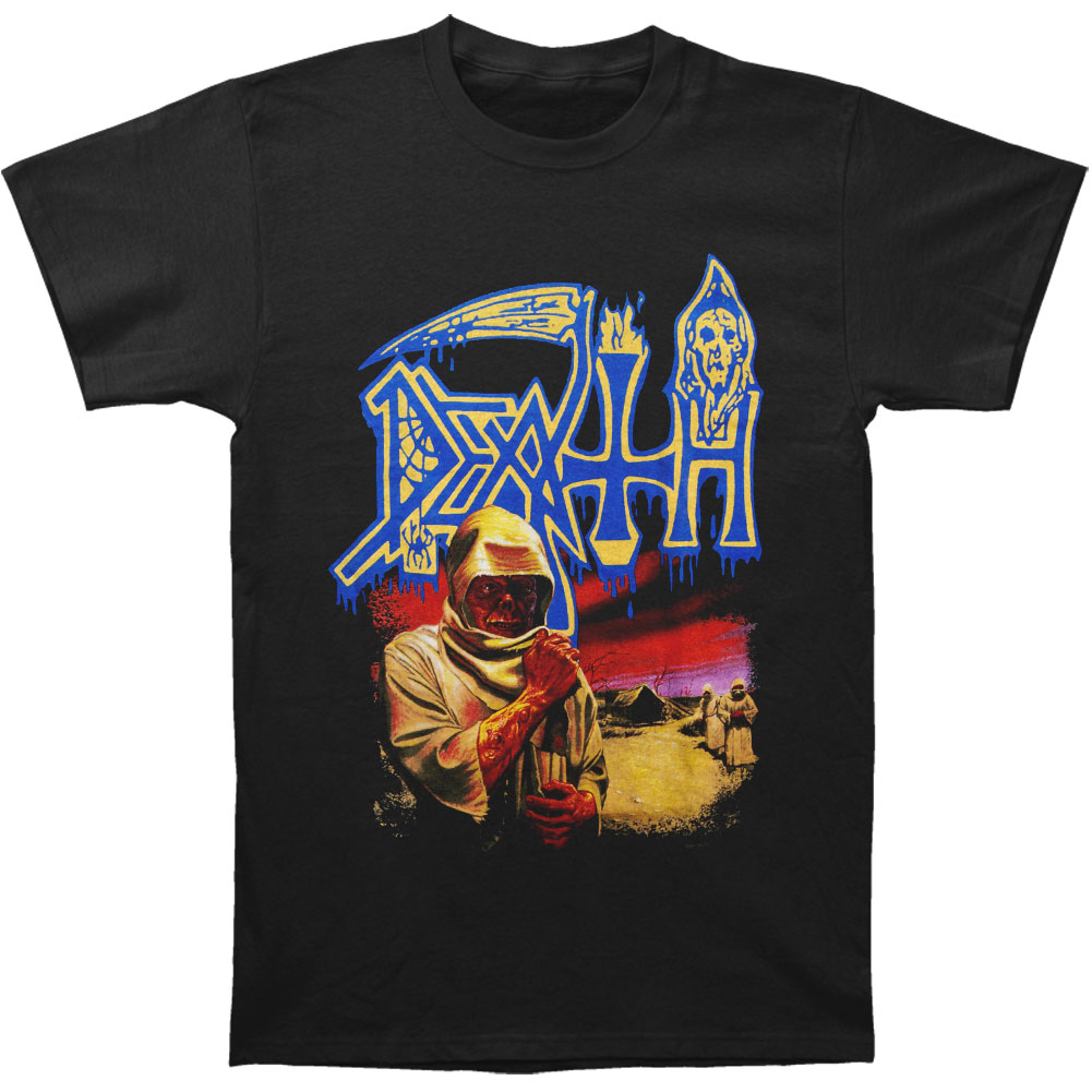 Death Men's  T-shirt Black