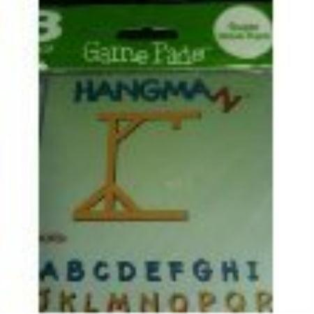 Hangman Game 3 Pack 50 Sheet Pads](Paw Games)