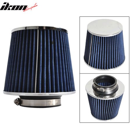 Fits 3 Inch Race Performance Cold Air Intake Cone Filter Blue 88-01
