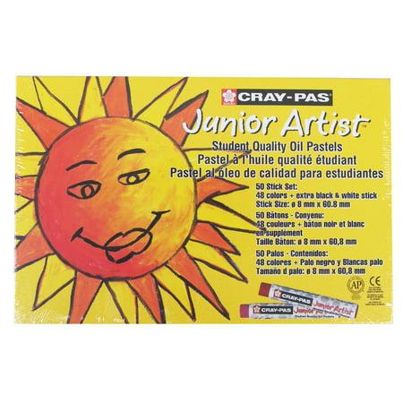 Cray-Pas Oil Pastel 50-Color Set