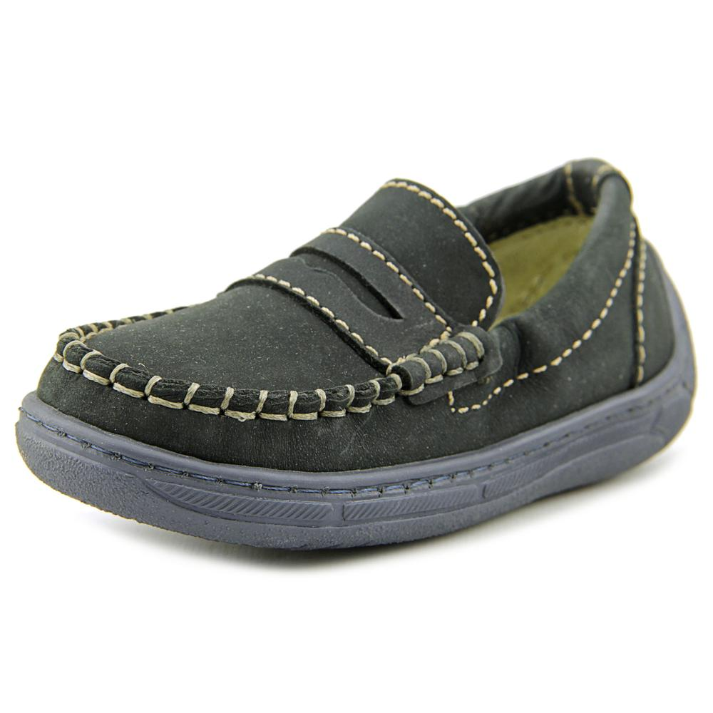 Primigi Choat Toddler  Round Toe Leather Blue Loafer