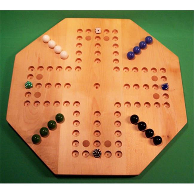 Charlies Woodshop W-1940alt.-1 Wooden Marble Game Board Hard Maple by Charlies Woodshop