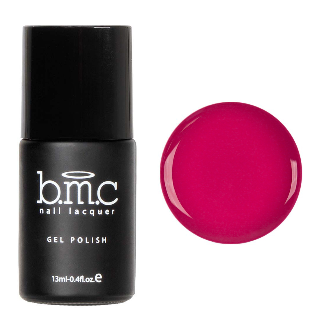 BMC Pink Colored Cream Speed Gel Lacquer Polish Set - Pink Paradise Collection