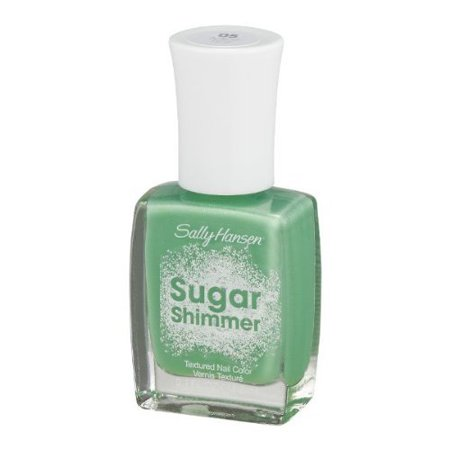 Mnt Tint (Sally Hansen Sugar Shimmer Textured Nail Color, Mint Tint, 0.4 fl)