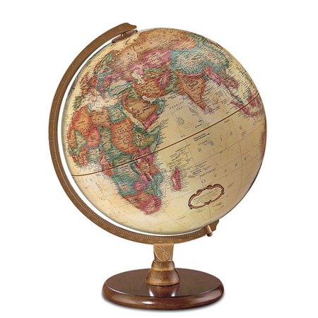Darby Home Co 12'' Antique French or English World Globe French Accents Antiques