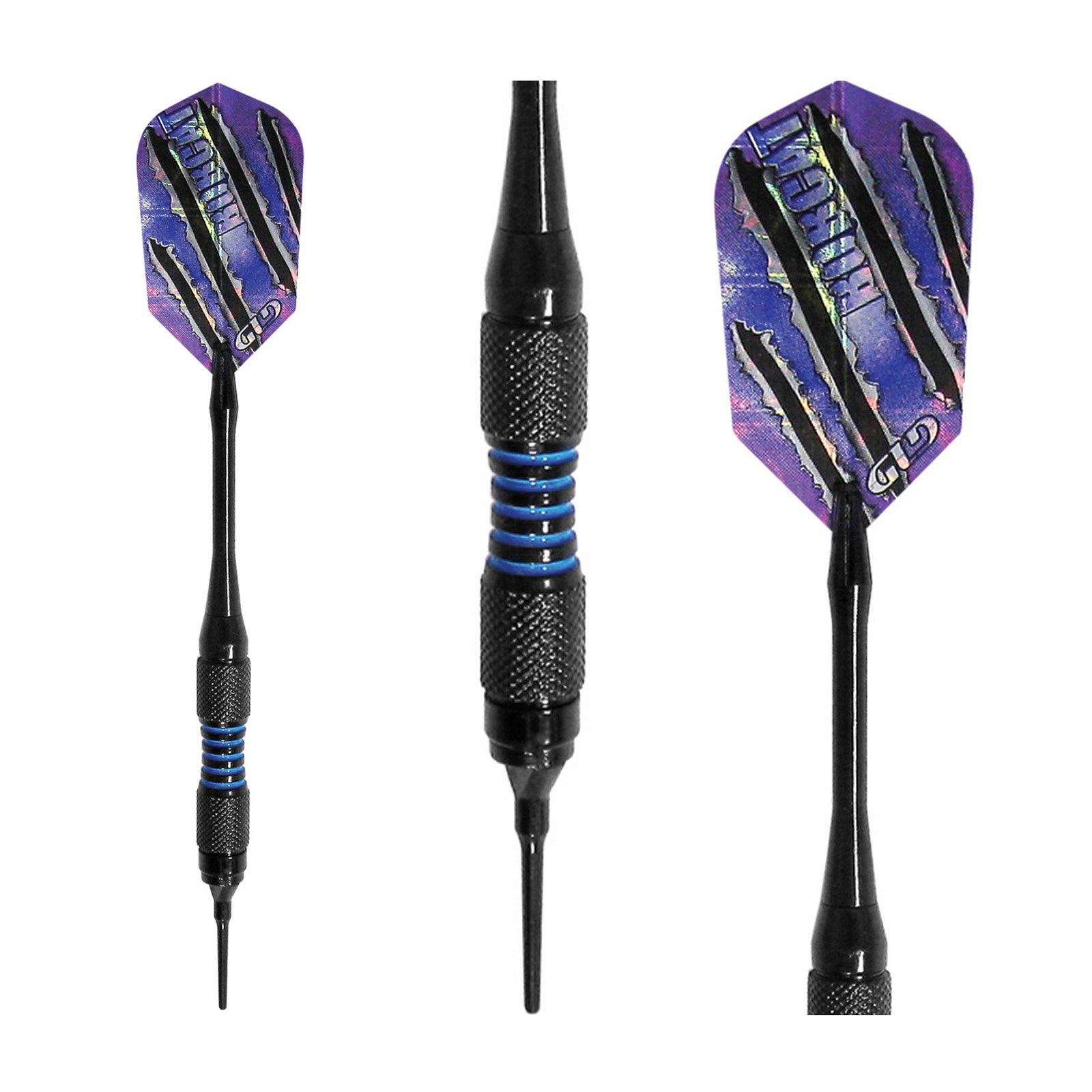 Viper Bobcat Adjustable Soft Tip Darts, 16-18Grams