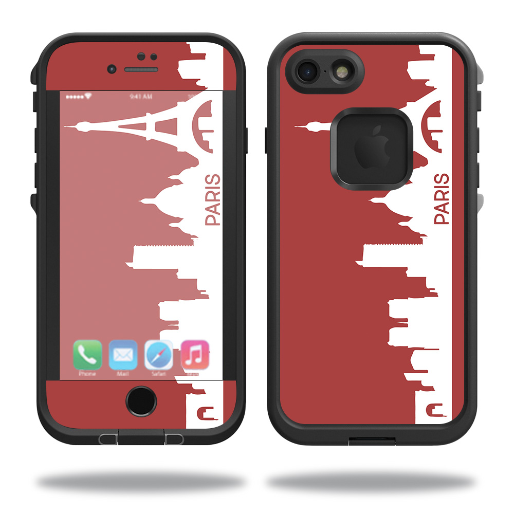 Skin For Lifeproof iPhone 7 Fre Case – Paris | MightySkins Protective, Durable, and Unique Vinyl Decal wrap cover | Easy To Apply, Remove, and Change Styles | Made in the USA