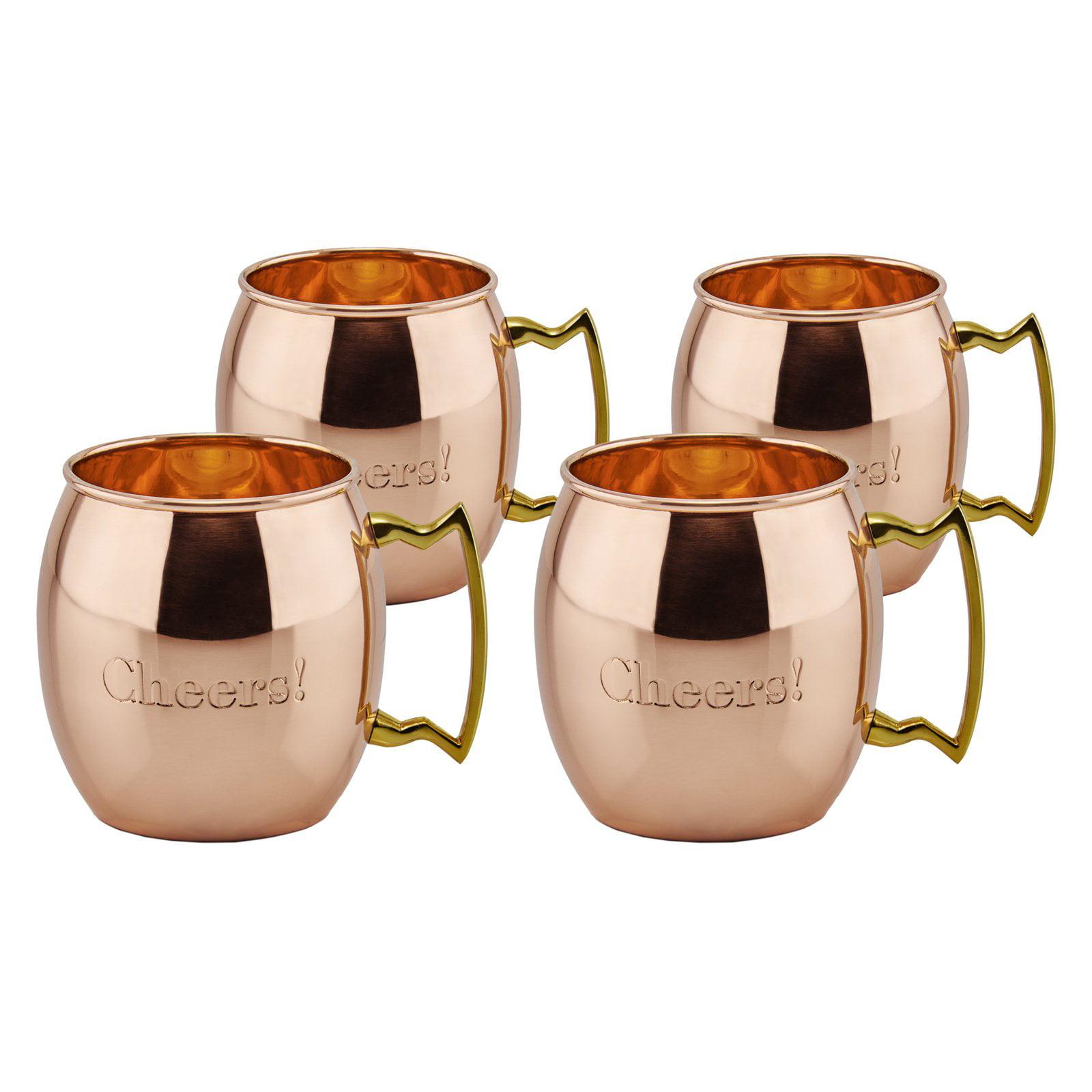 Old Dutch International Cheers! Moscow Mule Mugs - Set of 4