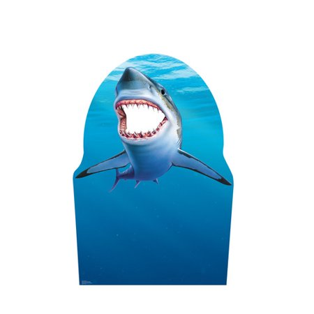 Advanced Graphics Shark Cardboard Cutout Life Size Stand-In - Shark Cutouts