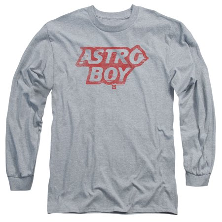 ASTRO BOY/LOGO-L/S ADULT 18/1-ATHLETIC HEATHER-LG