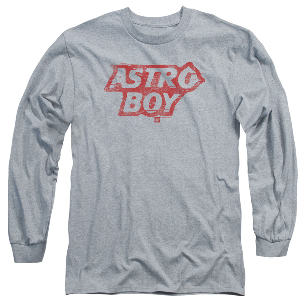 Astro Boy Logo Mens Long Sleeve Shirt