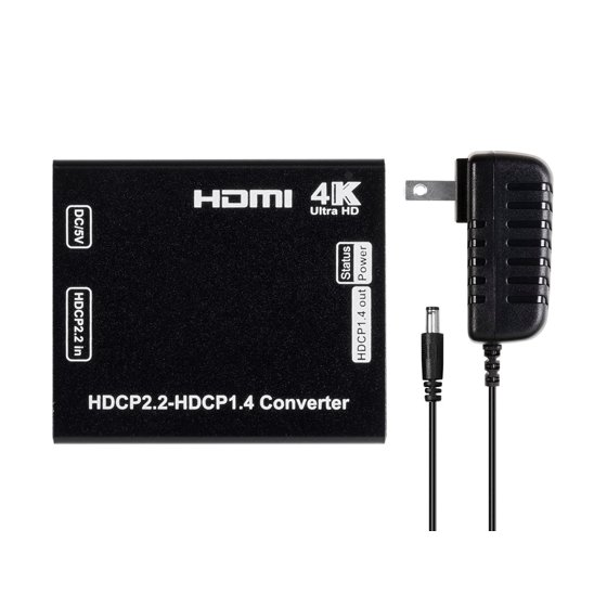 Monoprice Blackbird 4K Pro HDCP Converter 2 2 to 1 4 | Supports 4K@60Hz and  Deep Color