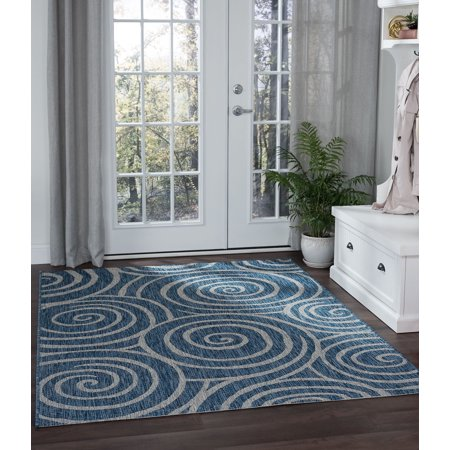 Transitional Outdoor Rug - Bliss Rugs Vajen Transitional Area Rug